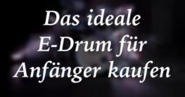 E-Drum für Anfänger